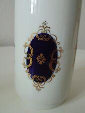 Porzellanvase 1762 Echt Kobalt Made In GDR VEB Aelteste Volkstedter Porzellanfab