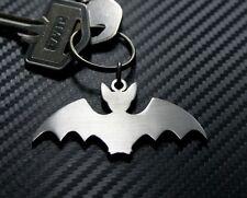 BAT Mammal Vampire Fruit Wings Dracula Goth Emo Keyring Keychain Key Fob Gift