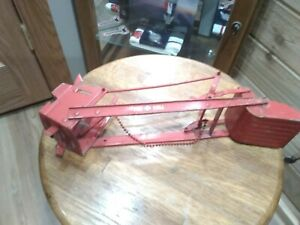 Vintage Tru Scale Front Loader Bucket, Tractor Piece, Farm Toy