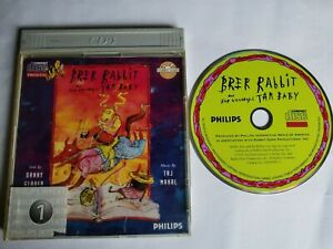 BRER RABBIT AND THE WONDERFUL TAR BABY -  PHILIPS CDI 1991 - BOOKLET - V.G.COND