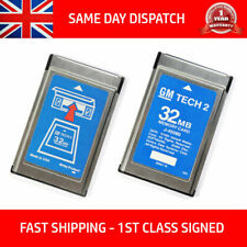 FITS VAUXHALL 173.000 1997-14 GM TECH2 TECH 2 32MB MEMORY CARD SOFTWARE ENGLISH