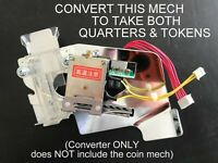 $.25 CONVERTER FOR PACHISLO SLOT MACHINES - ACCEPTS BOTH QUARTERS & TOKENS