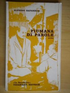 Fiumana di parole PoemaRapanelli Alfredotodariana1972poesia urbino marche