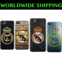 Real Madrid Football Skin Trend Case Cover For Iphone 4 5 6 7 8 Plus X XS Max XR