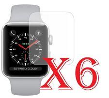 6 PZ PELLICOLA PROTEZIONE PER Apple Watch Serie 3 (42 mm) PROTEGGI SCHERMO LCD