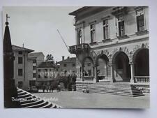 TRICESIMO Piazza Garibaldi lambretta Udine vecchia cartolina