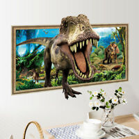 3D Forest Big Dinosaur Room Home Decor Removable Wall Sticker Decals Decoration*