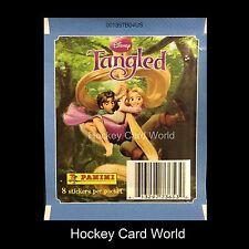 (HCW) 2010 Disney Tangled (8 Album Sticker Panini Pack)