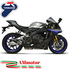 Exhaust Yamaha Yzf 1000 R1 2015 15 Termignoni Motorcycle Slip-On Gp Style Carbon
