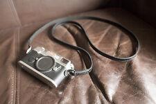 Genuine Real Leather camera neck body strap for EVIL Film camera 130cm Length