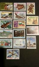 Nicaragua Stamps 1973-83 air mail