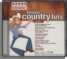 Karaoke CD+G - Female Country Hits Vol. 1 - New 8 Song CD! In My Daughter's Eyes