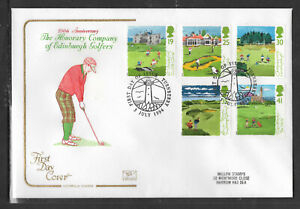 GB 1994 GOLF 250th ANNIV TURNBERRY LIGHTHOUSE POSTMARK Cotswold Cachet FDC