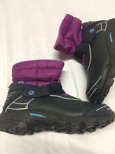 Kids MERRELL Boots Size 13,EU 31 Select Dry