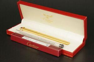Cartier  Trinity Vendome Rare Gold Ballpoint pen w/Box #C22