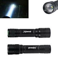 3000LM Cree LED XM-L T6 Zoomable Tatical Flashlight Military Waterproof Torch