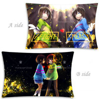 Hot Game Undertale Frisk/Chara Dakimakura Hugging Body Pillow Case Cover 35x55CM