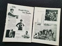 Guns of Navarone - Vintage Hollywood - 1962 Book Print