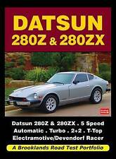 Book - Brooklands Datsun 280Z 280ZX - Nissan Turbo 2+2 - Road Tests & Articles