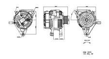 Alternator fits 2000-2008 Toyota Celica Corolla,Matrix  TYC