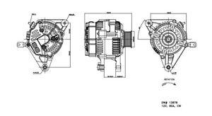 Alternator TYC 2-13878