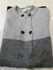 Gorgeous Ladies Boden Shades of Grey Knitted Cardigan/Jacket Size 12