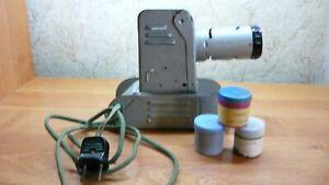 Film Strip Diafilm Projector Filmoscope Diaprojector Vintage Tank 1950 yeas
