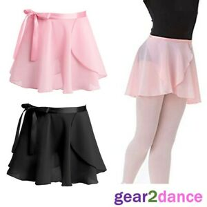 UK Girls Ballet Dance Dress Kids Leotard Skating Tutu Skirts Dancewear Costume