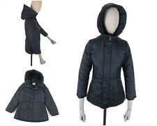 Vintage JEAN PAUL GAULTIER JUNIOR Down Nylon Puffer Hooded Coat Jacket Size 12A