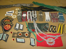 DDR NVA MFS stasi Uniform effetti la raccolta 100 PEZZI!!!