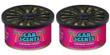 Pack Of 2 Top Selling California Scents Coronado Cherry Car & Home Air Freshener