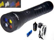 CREE LED Taschenlampe Multifunktions 4 Farbfilter verstellbar Beleuchtung LENS