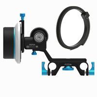 FOTGA DP500III 3 Follow Focus Clamp for 15mm Rod DSLR Rig 5D III A7 A7S A7R II