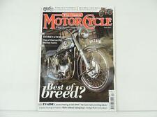 April 2014 THE CLASSIC MOTORCYCLE Magazine BSA Sidecar Norton Dominator L5466