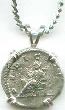 223AD Roman Silver Coin Empress Julia Maesa & Chastity Modesty Goddess Pudicitia