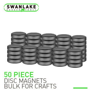 50&150 Strong Ceramic Industrial Magnets Round Craft Refrigerator Button DIY