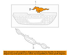 FORD OEM 05-09 Mustang Grille Grill-Medallion 5R3Z8A224AA