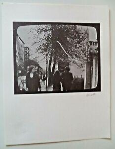BOLAFFI ARTE  Germano Olivotto  Litografia  FIRMATA e NUMERATA