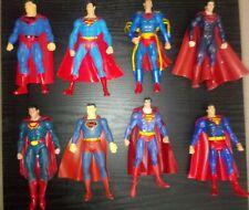 Lot 8 Superman Dc Universe Action Figures