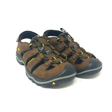 Keen Rialto Open USA Made Sports Waterproof Sandal Bison Brown Mens Size 11