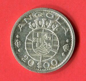 Angola - 1955 20 Escudos KM#74 in Choice Unc