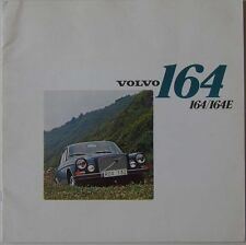 Volvo 160 Series 164 164E 1972/3 Original UK Market Sales Brochure No RSP/PV 529