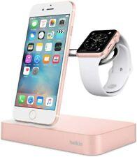 Belkin Valet Charging Dock Wireless Apple iPhone 11 & Watch 4, 3, 2, 1 Rose Gold