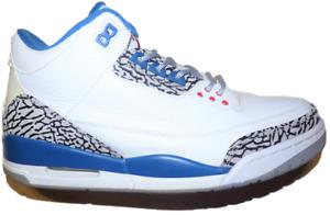 2011 Jordan True Blue 3 (Size 10) 136064-104 Read Description