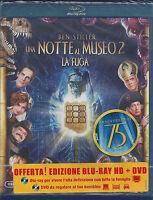 Blu-ray Disc + Dvd **UNA NOTTE AL MUSEO 2 ~ LA FUGA** con Ben Stiller Nuovo 2009