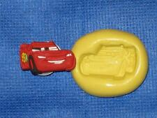 Lightning McQueen Silicone Push Mold 835 For Craft Chocolate Resin Clay Fondant