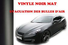Film auto noir mat autocollant vinyle covering thermoformable 1m50 x 2m