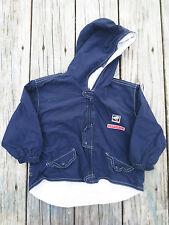 Catimini ~ Boys Boutique Chef Navy Blue Parka Jacket ~ Size 18 months