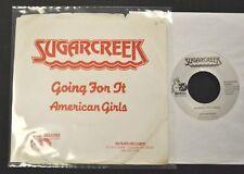 PICTURE SLEEVE 80's NC ROCK Sugarcreek Beaver 925 American Girls