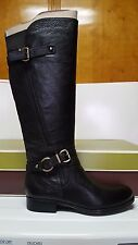 New Naturalizer Women's Juletta Black Leather Riding Boots 6M